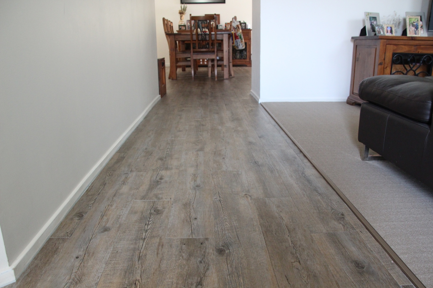 Affordable gerflor self adhesive vinyl tile flooring frugalable gerflor vinyl flooring is so easy to install on a concrete slab is quiet underfoot and has a nice texture i had my husband change the blade on my stanley dailygadgetfo Image collections