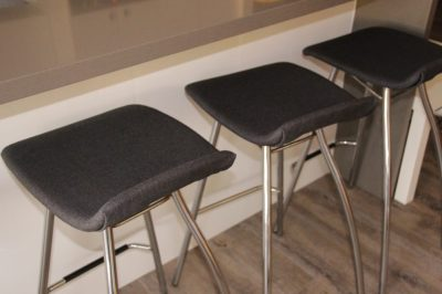reupholster a bar stool, freedom brand